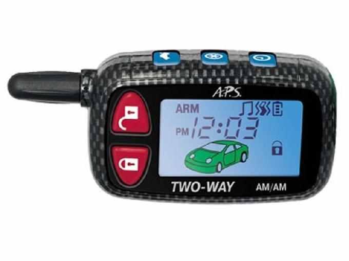 A.P.S. 7100  инструкция по эксплуатации и руководство пользователя для автомобильной сигнализации
