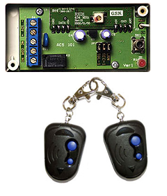 ACS-101 инструкция - одноканальный комплект тревожной сигнализации
