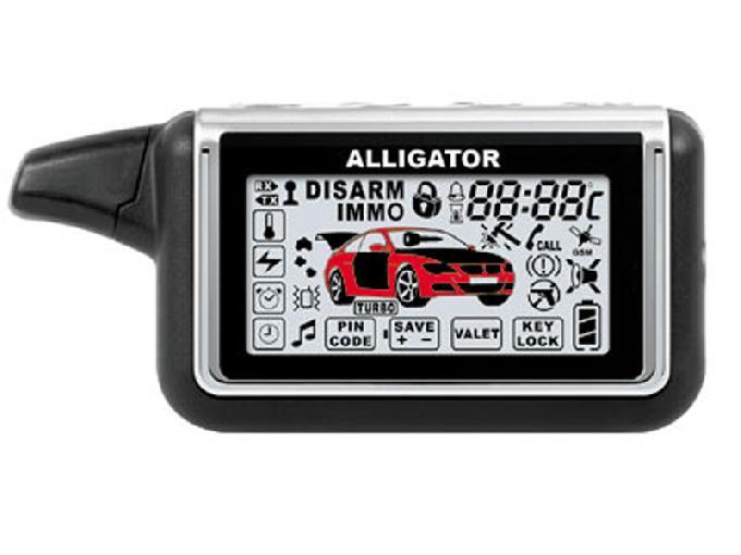 Alligator D-1100RSG инструкция по установке для автосигнализации Аллигатор D-1100RSG