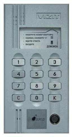 БВД-М200 инструкция - блок вызова домофона