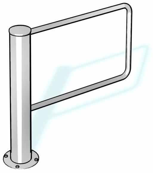 Charon HSD инструкция - автоматическая створчатая дверь
