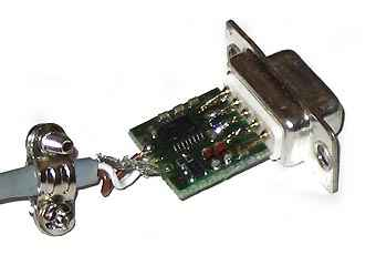 DB9FC/RJ-KPL инструкция - комплект кабелей для  программирования устройств  с портом rs-232 ttl