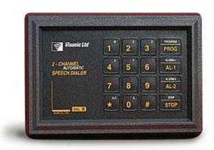DL-125C паспорт - Программируемый 2 - канальный речевой автодозвонщик