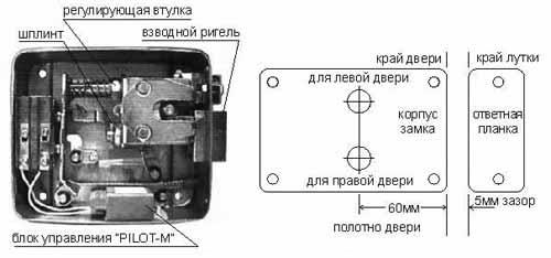 FIGHTER инструкция - электромеханический замок