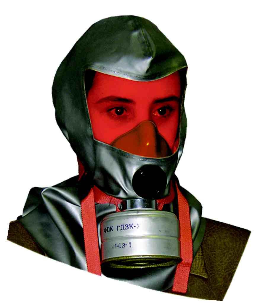 ГДЗК, ГДЗК-У инструкция - самоспасатель фильтрующий