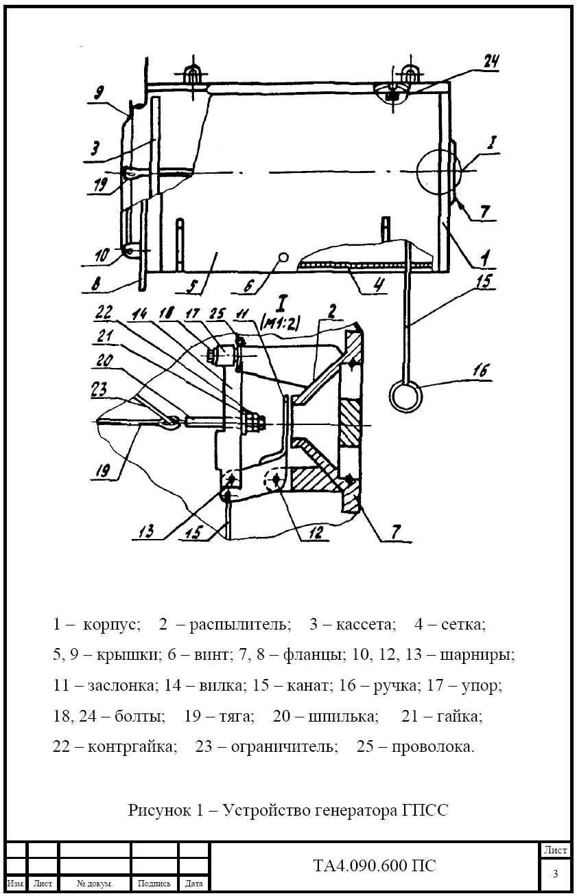 ГПСС инструкция - генератор пены средней кратности стационарный