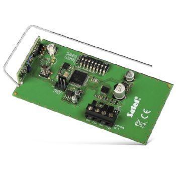 INT-RX  инструкция - модуль расширения для поддержки радиобрелоков 433 мгц
