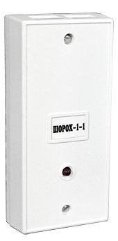 Шорох-1 (ИО-313-1) паспорт - Извещатель  охранный поверхностный вибрационный