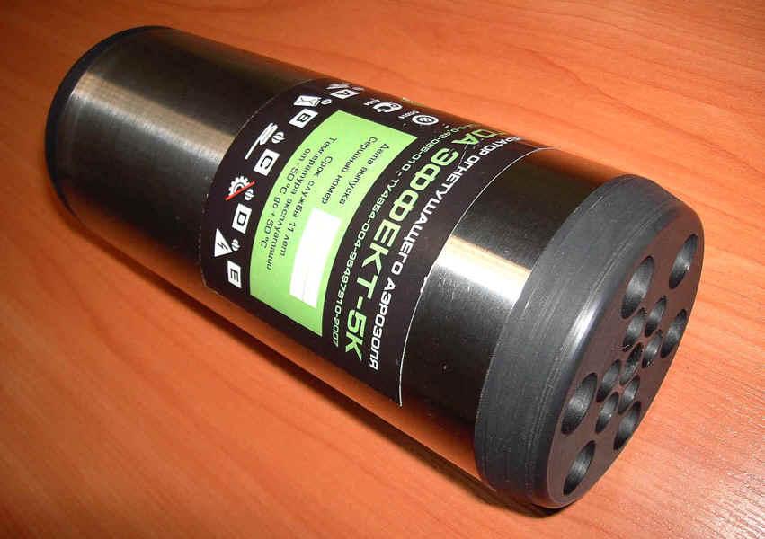 Эффект-5 инструкция - генератор огнетушащего аэрозоля