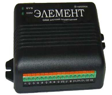 Элемент-1112 паспорт - GSM система оповещения