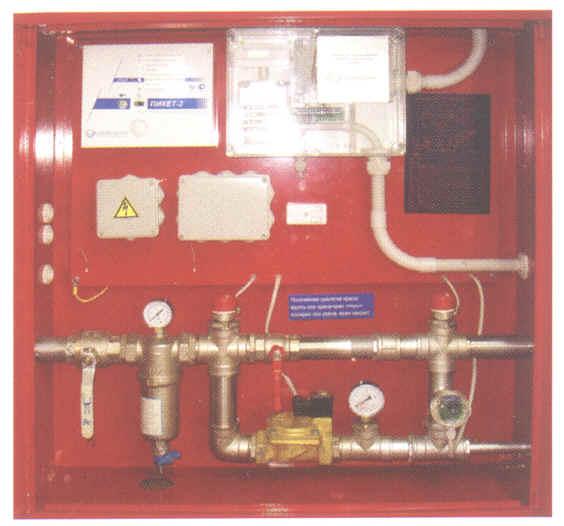 КПУ УПТ-Пульс инструкция - контрольно-пусковой узел установки пожаротушения системы мусороудаления
