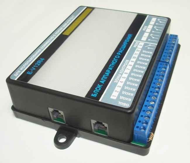 Кситал V12R4 инструкция - блок аппаратного расширения