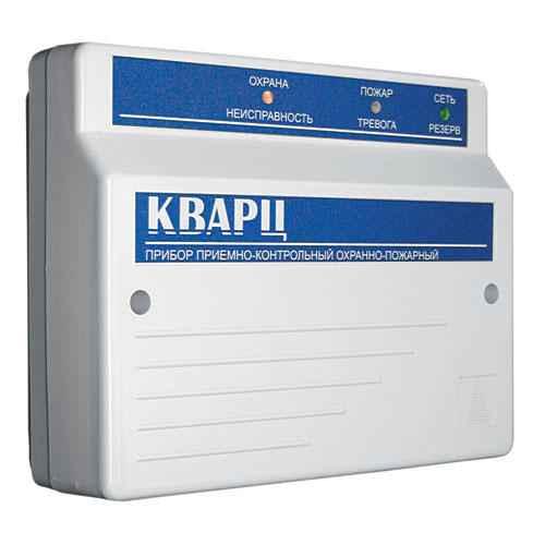 КВАРЦ паспорт - прибор приемно-контрольный охранно-пожарный