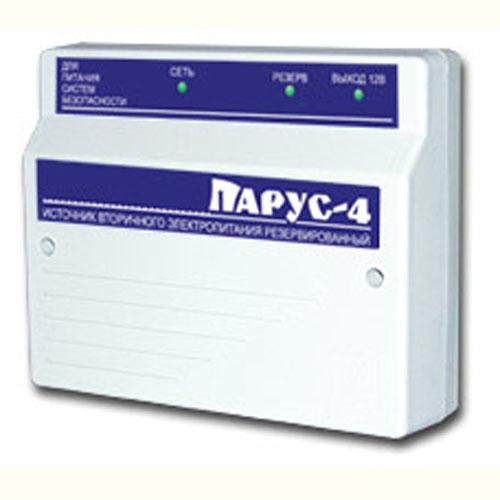 ПАРУС-4 паспорт - источник вторичного электропитания резервированный