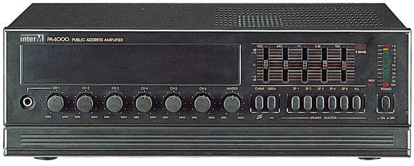 РА-2000, РА-4000 инструкция - усилитель
