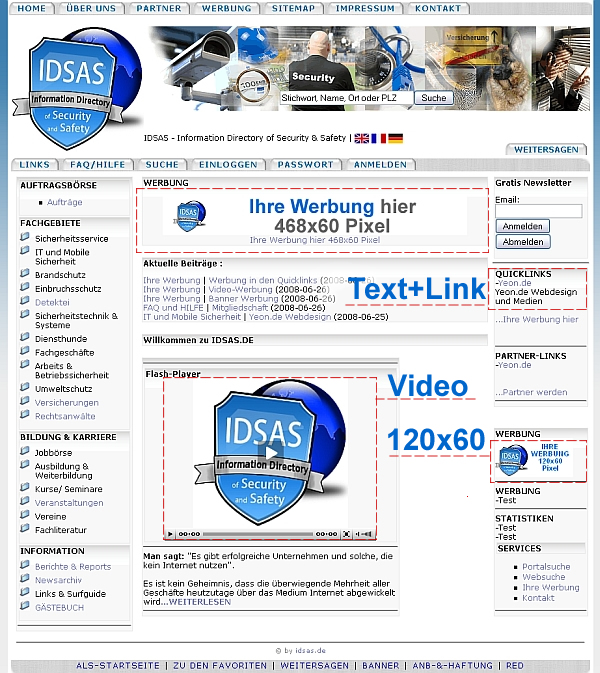 Видео реклама на Idsas.ru (Video)