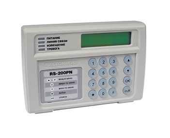 RS-200PN паспорт - пульт централизованного наблюдения