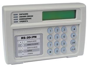 RS-201PN инструкция - пульт централизованного наблюдения