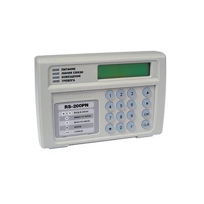 RS-202PN инструкция - пульт центрального наблюдения