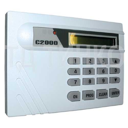Паспорт с2000 - Пульт контроля и управления охранно-пожарный (с2000)