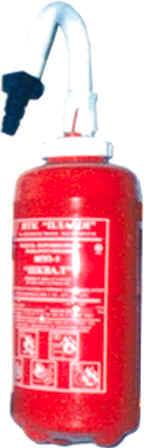 ШКВАЛ инструкция - модуль порошкового пожаротушения