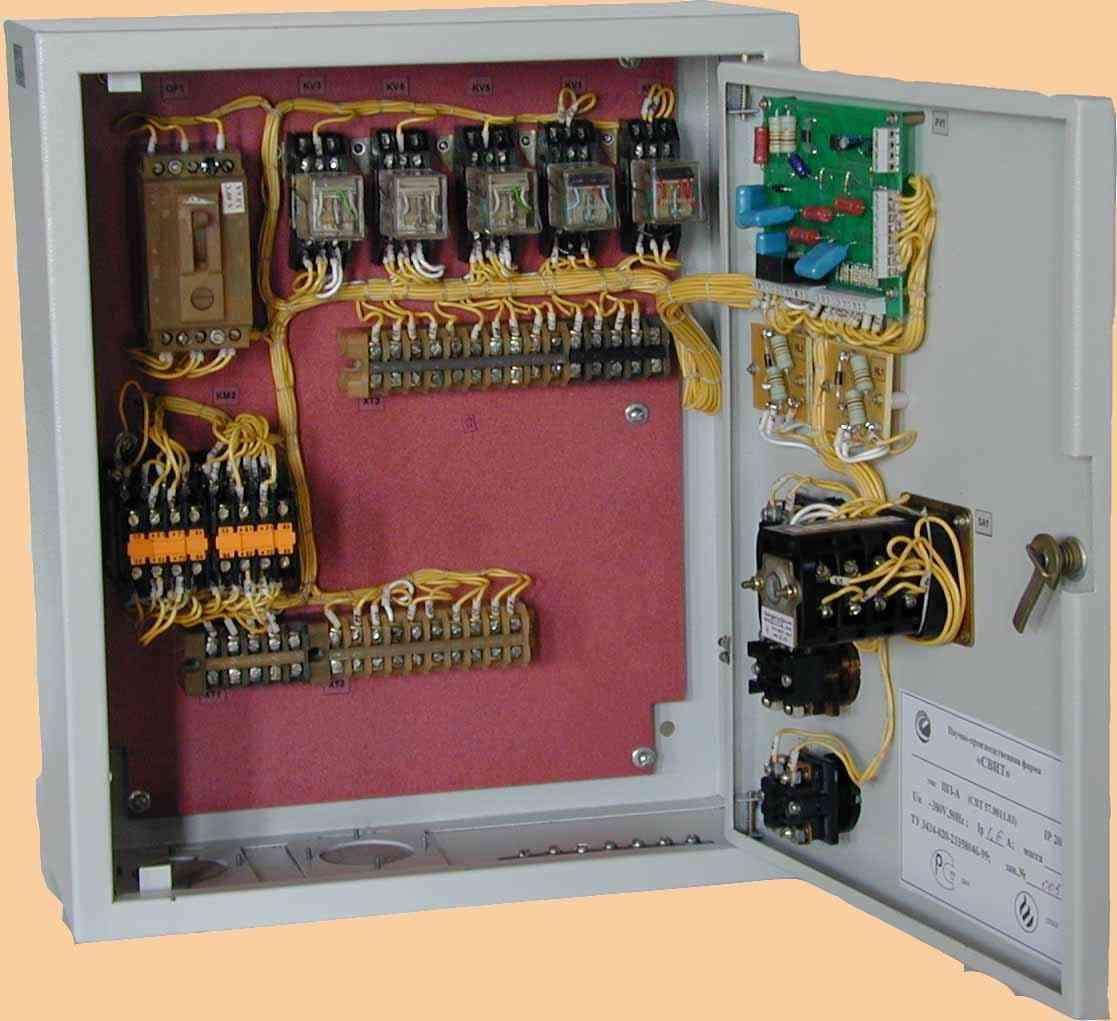 ШЗ-М паспорт - шкаф управления электрозадвижкой