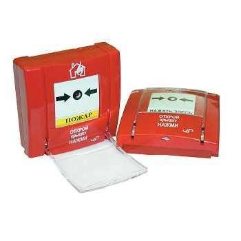 SPR-8L паспорт - извещатель пожарный ручной