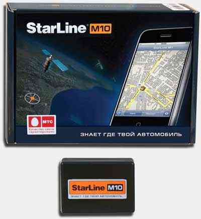StarLine M10 инструкция - GSM сигнализация