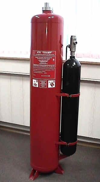ТАЙФУН-240 инструкция - модульная установка (модуль)  пожаротушения  тонкораспыленной водой