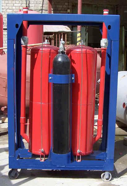 Титан-300 инструкция - установка порошкового тушения стационарная