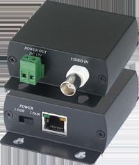 TTP111VPC инструкция - приемопередатчик видеосигнала и питания 12 в постоянного тока