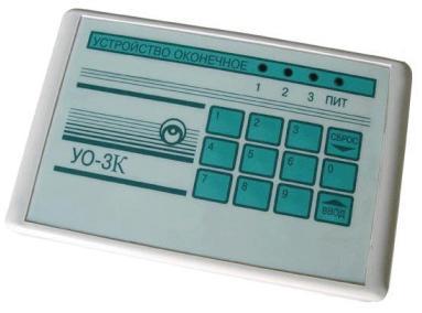 УО-3К паспорт - оконечное устройство
