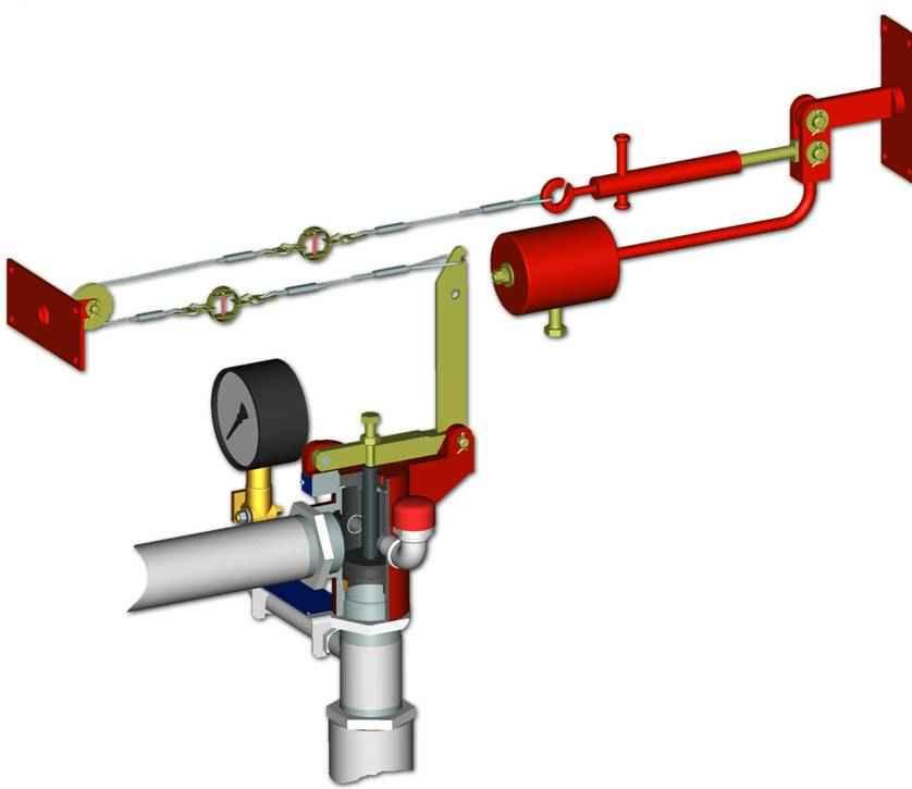 УУ-Д40/1,2(Э12,24,220)-ГМ.О4 инструкция - узел управления дренчерный с электроприводом