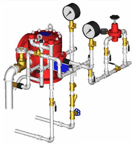 УУ-С100/1,2Вз-ВФ.О4, УУ-С150/1,2Вз-ВФ.О4 инструкция - узел управления водозаполненный спринклерный