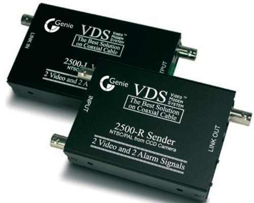 VDS 2500 инструкция - устройство передачи 2-х видеосигналов, 2-х сигналов тревоги и электропитания по коаксиальному кабелю