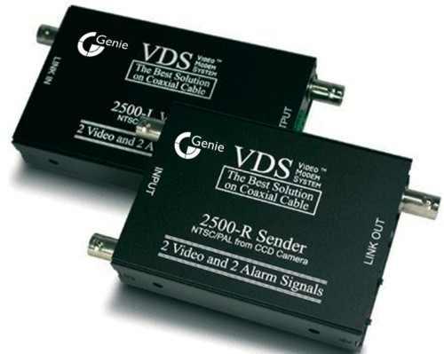 VDS 2510 инструкция - устройство передачи 2-х видео-, 2-х аудиосигналов, 2-х сигналов тревоги и электропитания по коаксиальному кабелю